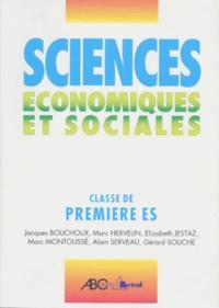Elisabeth Jestaz et  Collectif - Sciences économiques et sociales - Première ES.
