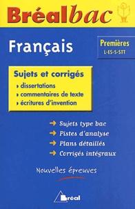 Elisabeth Kennel-Renaud - Français 1ere L-ES-S-STT - Sujets et corrigés.