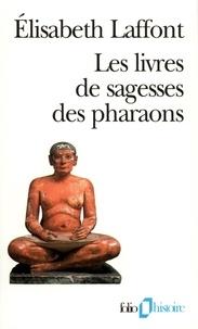 Galabria.be Les livres de sagesses des Pharaons Image