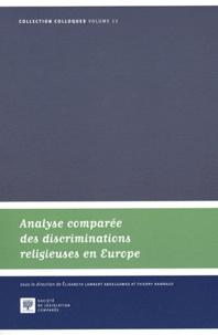 Histoiresdenlire.be Analyse comparée des discriminations religieuses en Europe Image
