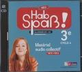 Elisabeth Lansel - Allemand 3e LV2 A1 Hab Spass! Neu - Matériel audio collectif. 2 CD audio