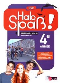 Elisabeth Lansel - Allemand 4e année A2>B1 Hab Spass! neu.