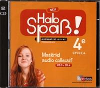 Allemand 4e LV2 A1 Hab Spass! Neu- Matériel audio collectif - Elisabeth Lansel |