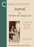 Elisabeth Leseur - Journal - et Pensées de chaque jour.