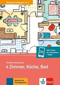 4 Zimmer, Kuche, Bad- Einfach loslesen! A1.2 - Elisabeth Muntschick | Showmesound.org