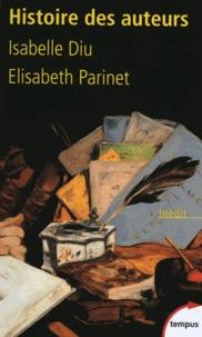 Elisabeth Parinet et Isabelle Diu - Histoire des auteurs.