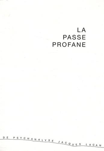 Elisabeth Rigal - La passe profane - Toulouse, le 14 octobre 2007.