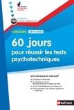 Elisabeth Simonin - 60 jours pour réussir les tests psychotechniques - Concours catégories B et C.