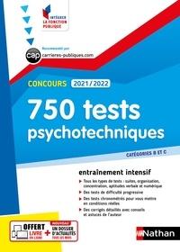 Elisabeth Simonin - 750 tests psychotechniques Concours Catégories B et C.