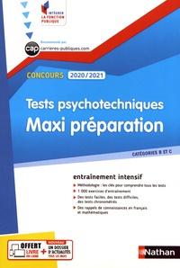 Elisabeth Simonin - Tests psychotechniques - Maxi préparation.