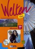 Elisabeth Thomas et Gabriele Sollfrank-Deshusses - Allemand 1e LV1-LV2 Welten Neu - Nouveaux programmes B1/B2. 1 CD audio