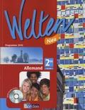 Elisabeth Thomas et Brigitte Benhamou - Allemand 2e, Welten Neu - A2/B1, Programme 2010. 1 CD audio