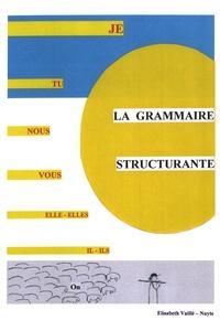 Elisabeth Vaillé-Nuyts - La grammaire structurante - 2 volumes : Livre du maître et fiches de jeux.