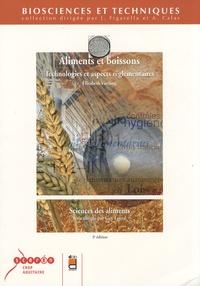 Elisabeth Vierling - Aliments et boissons - Technologies et aspects réglementaires.