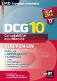 Elisabeth Walliser - Comptabilité approfondie DCG 10 - Tout-en-un.