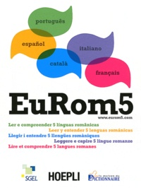 Histoiresdenlire.be EuRom 5 - Lire et comprendre 5 langues romanes Image