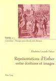Elisabetta Limardo Daturi - Représentations d'Esther entre écriture et images.