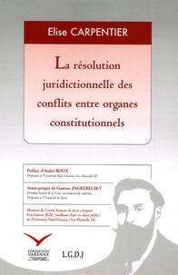 Checkpointfrance.fr La résolution juridictionnelle des conflits entre organes constitutionnels Image