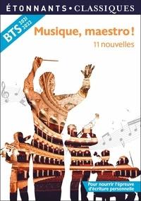 Elise Chedeville - Musique, maestro ! - 11 nouvelles.