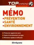 Elise Delemasure - Mémo PSE Prévention, Santé, Environnement.
