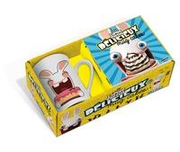 Cjtaboo.be Mug cake The Lapins Crétins - Coffret avec un mug et un livre de recettes Image