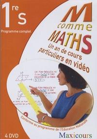 Elise Legghe et Murielle Birba - Ma comme Maths Programme complet 1eS - Un an de cours particuliers en vidéo, 4 DVD.