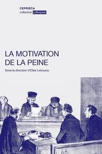 La motivation de la peine.pdf
