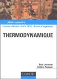 Elise Lorenceau et Frédéric Restagno - Thermodynamique.