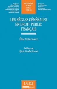 Rhonealpesinfo.fr Les règles générales en droit public français Image