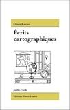 Elisée Reclus - Ecrits cartographiques.