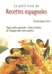 Elisenda Ségalas-Clérin - Le petit livre de recettes espagnoles.