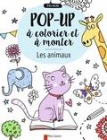 Elizabeth Golding et Elisa Paganelli - Les animaux - Pop-up à colorier et à monter.