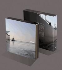 Elizabeth Gueuret - Long cours - Coffret 5 volumes : Escale ; Docker ; Marin ; Balise ; Abord.