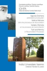 Deedr.fr Vérité et mémoire dans les processus de réconciliation Image