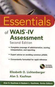Elizabeth O. Lichtenberger et Alan Kaufman - Essentials of WAIS-IV Assessment. 1 Cédérom