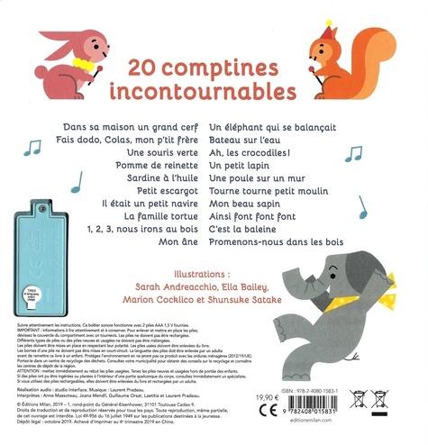 Mon premier recueil de comptines. 20 chansons à écouter