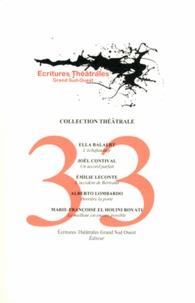 Ella Balaert et Joël Contival - L'échafaudage ; Un accord parfait ; L'accident de Bertrand ; Derrière la porte ; Le meilleur est encore possible.