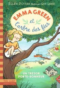 Ellen Potter - Emma Green et l'arbre des fées Tome 1 : Un trésor porte-bonheur.
