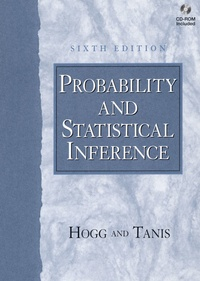 Histoiresdenlire.be Probability and statistical inference. With CD-ROM, 6th edition Image