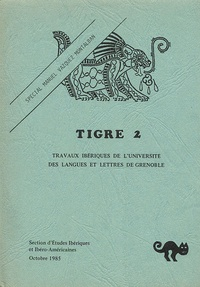 Georges Tyras - Tigre N° 2, Octobre 1985 : Spécial Manuel Vasquez Montalban - Edition bilingue français-espagnol.