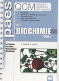 Elodie Baron et Sébastien Clerc - Biochimie UE1 - Tome 2, Les glucides, les lipides, bioénergétique, métabolisme.
