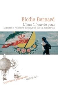 Elodie Bernard - L'Iran à fleur de peau - Moments et réflexions de voyage de 2005 à aujourd'hui.