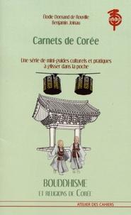 Elodie Dornand de Rouville et Benjamin Joinau - Bouddhisme et religions de Corée.