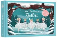 Elodie Fondacci et Gemma Roman - Les plus beaux ballets sonores - Un livre-théâtre avec de magnifiques illustrations réalisées en papiers découpés.