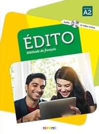 Elodie Heu et Myriam Abou-Samra - Edito Niveau A2 - Méthode de français. 1 DVD + 1 CD audio