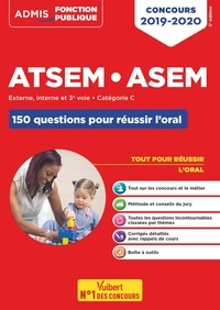 Elodie Laplace - ATSEM ASEM Externe, interne, 3e voie - Catégorie C - Les 150 questions pour réussir l'oral.