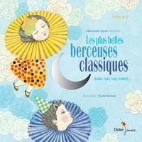 Elodie Nouhen - Les plus belles berceuses classiques - Coffret avec une illustration. 1 CD audio