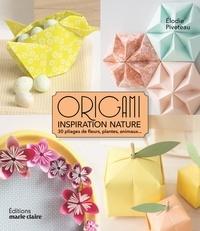 Elodie Piveteau - Origami inspiration nature - 30 pliages de fleurs, plantes, animaux.