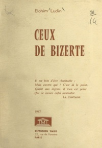 Elohim Ludin - Ceux de Bizerte.