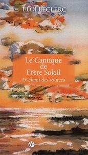Histoiresdenlire.be Le Cantique de frère Soleil - Le chant des sources Image